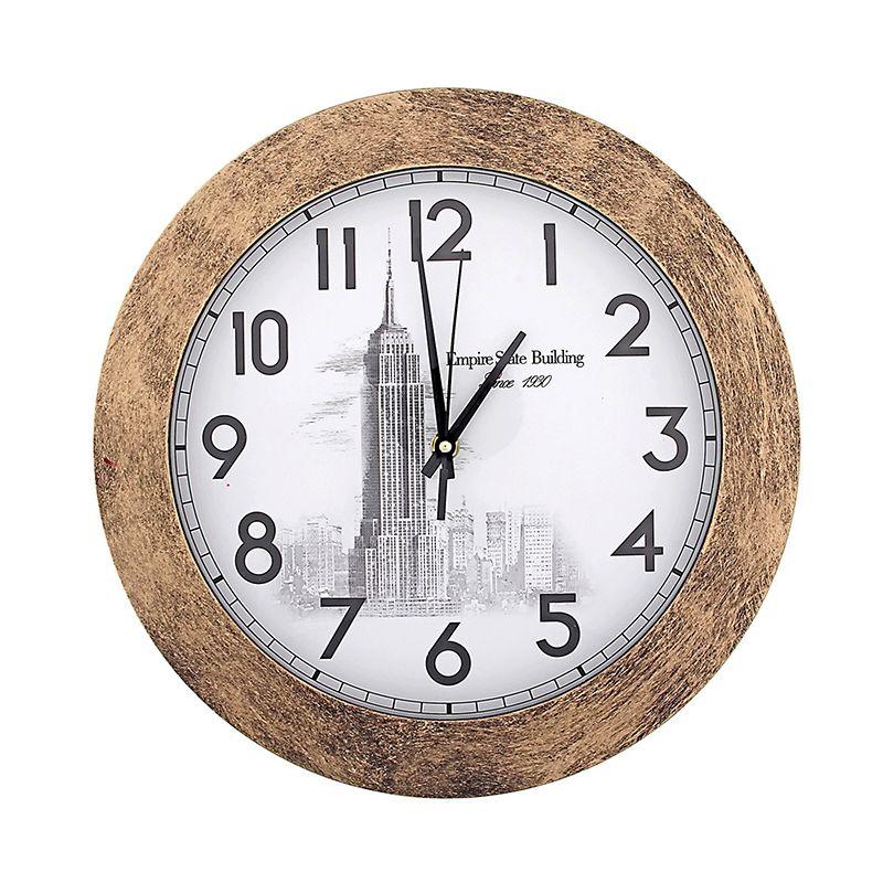 Часы настенные Empire State Building, бронза