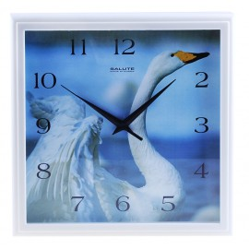 "Часы настенные ""Лебедь"""