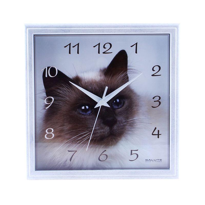 """Часы настенные """"Сиамская кошка"""", животные"""