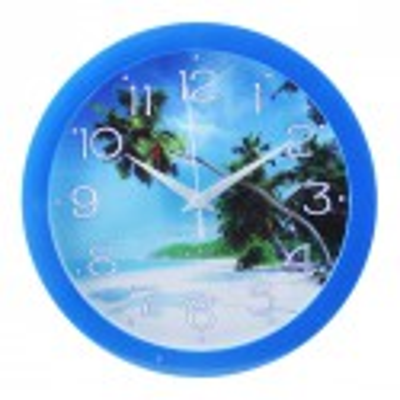 """Часы настенные """"Пляж"""", сюжетные"""