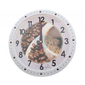 """Часы настенные """"Кухня. Зерна кофе"""""""