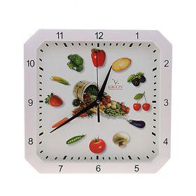 "Часы настенные кухонные ""Овощи"""