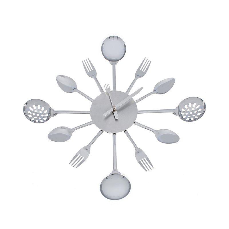 Часы настенные набор столовых приборов