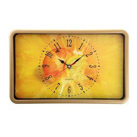 """Часы прямоугольные """"Оранж"""""""
