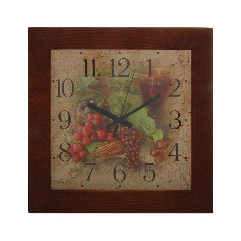 Часы настенные Кухня ДС-2АА28-303 гроздья винограда
