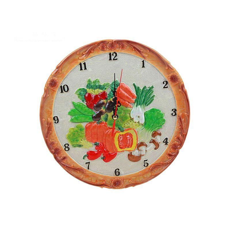 """Часы настенные натюрморт """"Овощи"""""""
