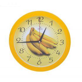 """Часы настенные кухонные """"Бананы"""""""