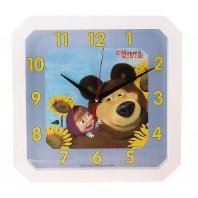 """Часы настенные """"Маша и медведь"""""""