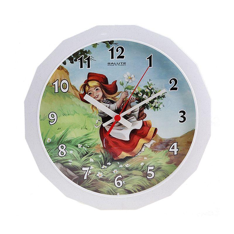 """Часы настенные детские """"Красная шапочка"""""""
