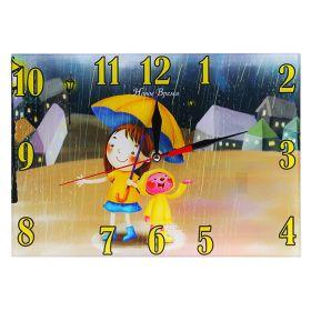 Часы настенные Детские дп530 дождик