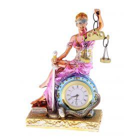 """Сувенир часы """"Фемида"""" (цветная)"""