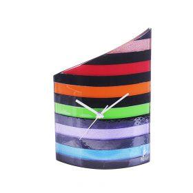Часы настольные, цветные