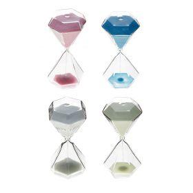 Часы песочные 5 минут Классика ребристая 12см микс