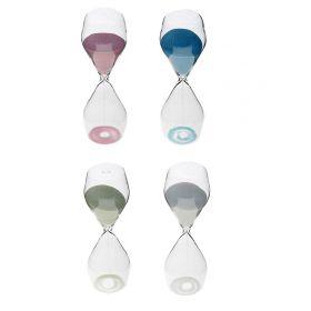 Часы песочные 10 минут Классика овал 18см микс