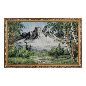 """Картина гобелен """"У подножья гор"""" 5080 S199 (54х84)"""