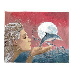 Чехол на подушку  Фея дельфинов 50*60
